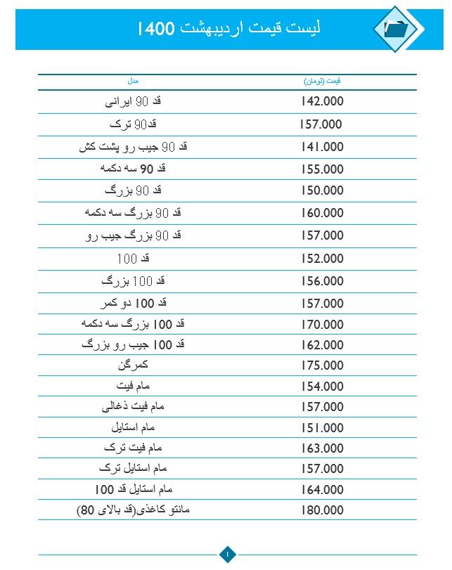 لیست قیمت عمده شلوار جین زنانه